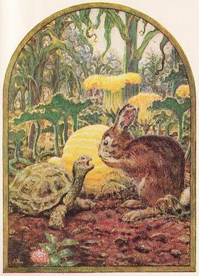 the tortoise and the hare moral