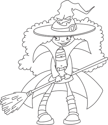 winnie the witch coloring pages - photo#4