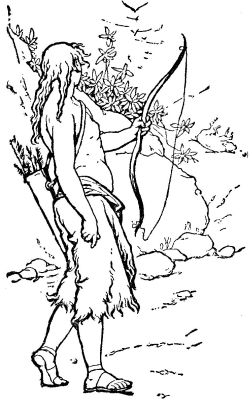 hagar and ishmael coloring pages - photo#14