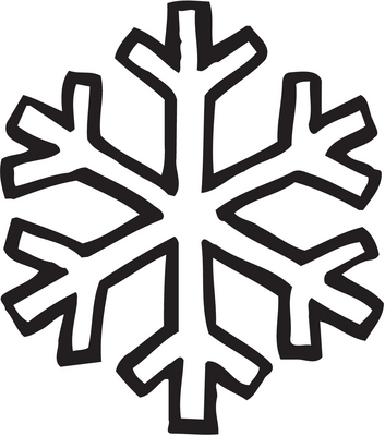 on coloring pages snowflake patterns